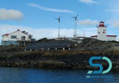 Canadian Coastguard turns to the SD3 Small Wind Turbine for Remote Power in Extreme Weather Regions