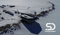 Antarctica's Zero Emission Research Station