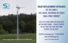 Upgrade your wind turbine with SD Wind Energy